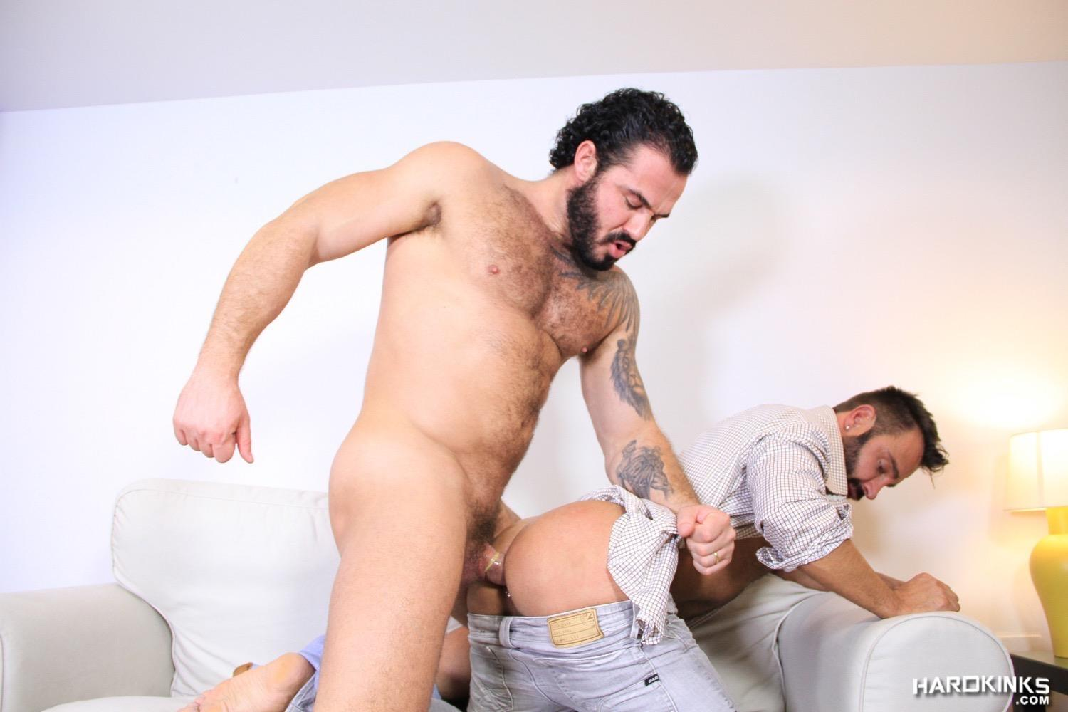 Straight Dude Is Dominated By Gay Bear