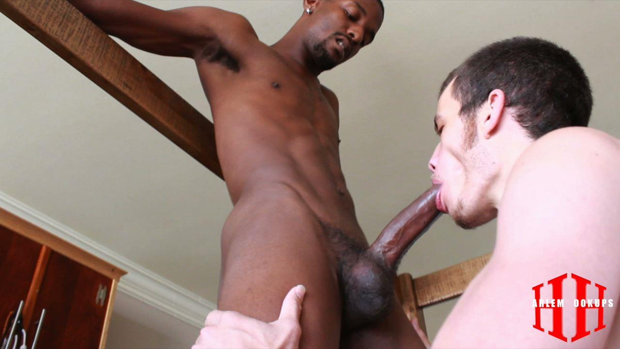 Black down low gay porn