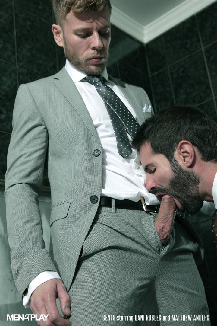Suit gay sucking dick photo
