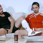 Hard Kinks Mario Domenech and Koldo G Bareback Big Uncut Cocks Amateur Gay Porn 01 150x150 Watching The Soccer Game With A Bud Leads To Bareback Fun