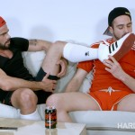 Hard Kinks Mario Domenech and Koldo G Bareback Big Uncut Cocks Amateur Gay Porn 02 150x150 Watching The Soccer Game With A Bud Leads To Bareback Fun
