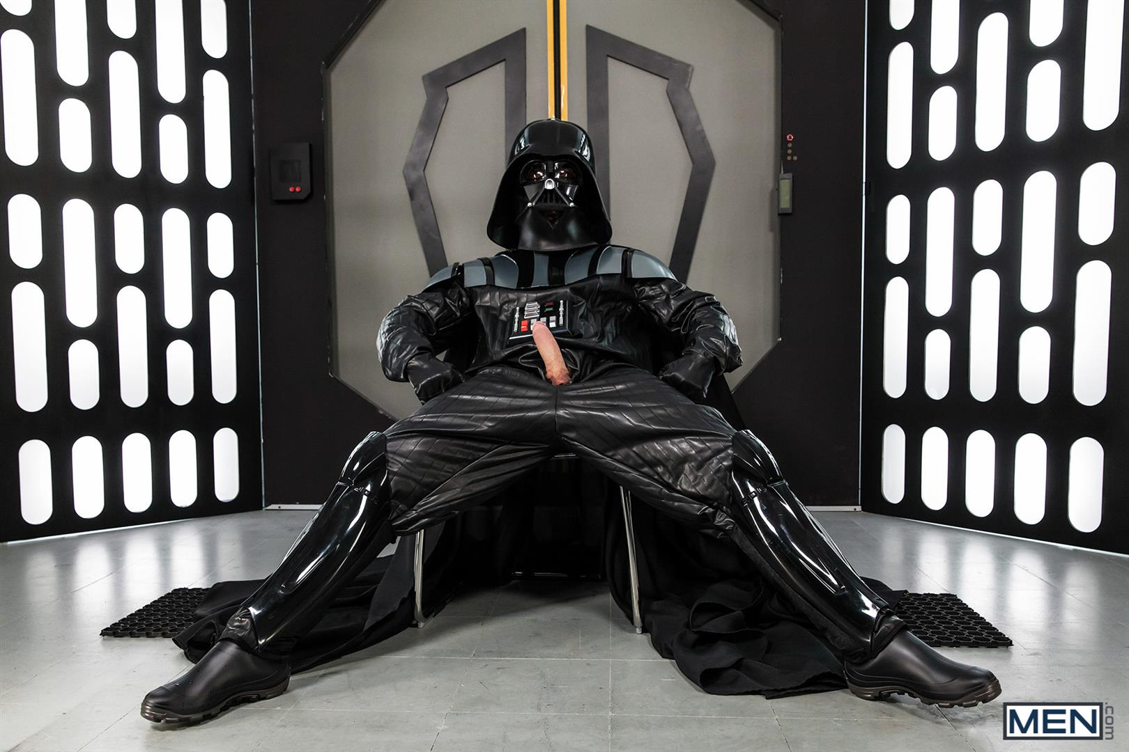 Men Dennis West Gay Star Wars Parody XXX Amateur Gay Porn 19 Who Knew that Darth Vader Likes To Fuck Man Ass?