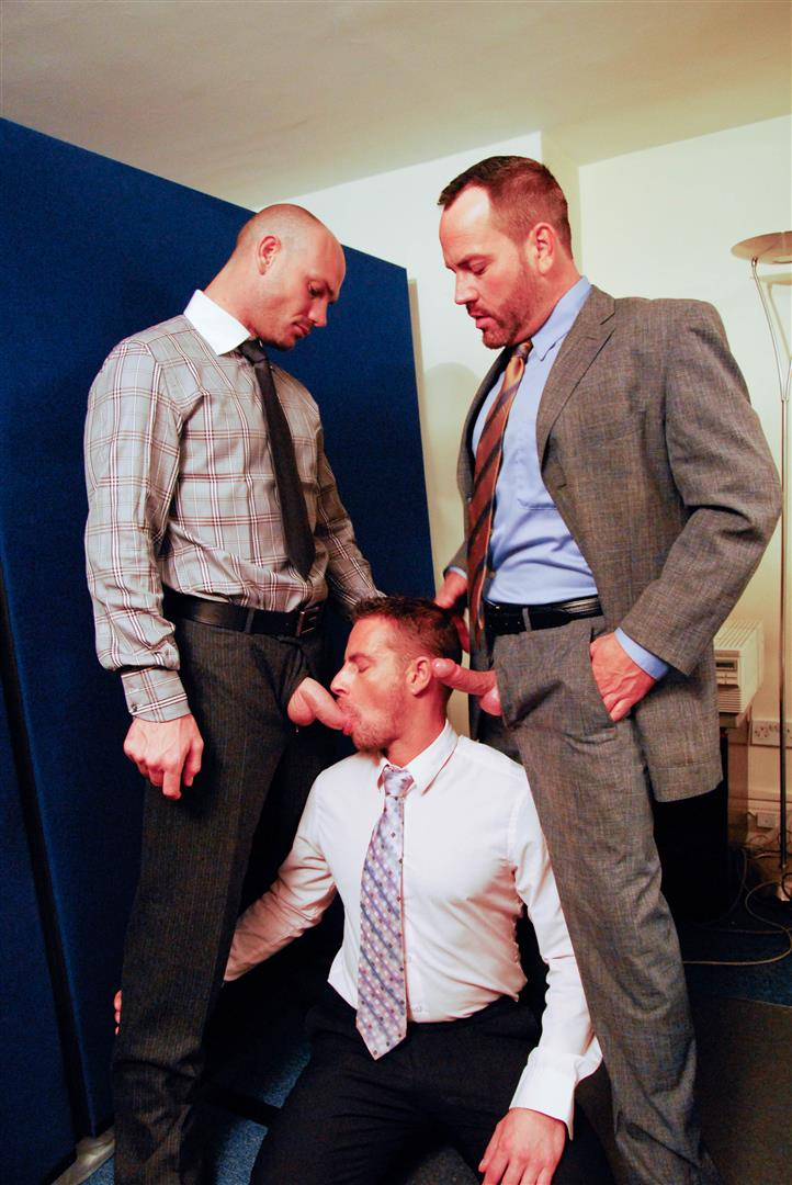 Gay Office Orgy