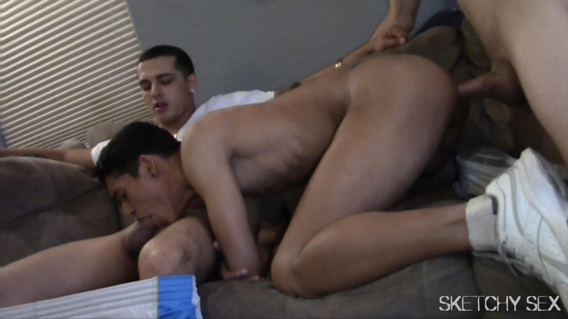 latin gay bareback addicts having some fucking