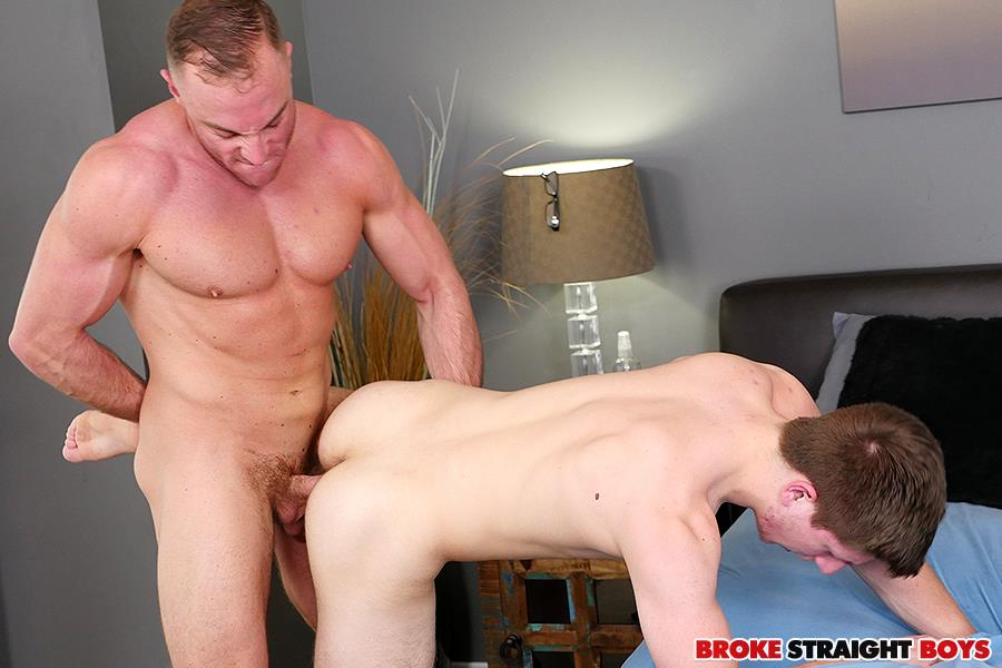 Broke Straight Boys Jacob Durham and Oliver Saxon Free Bareback Sex 19 Straight Muscle Jock Barebacks His Straight Buddy For Cash