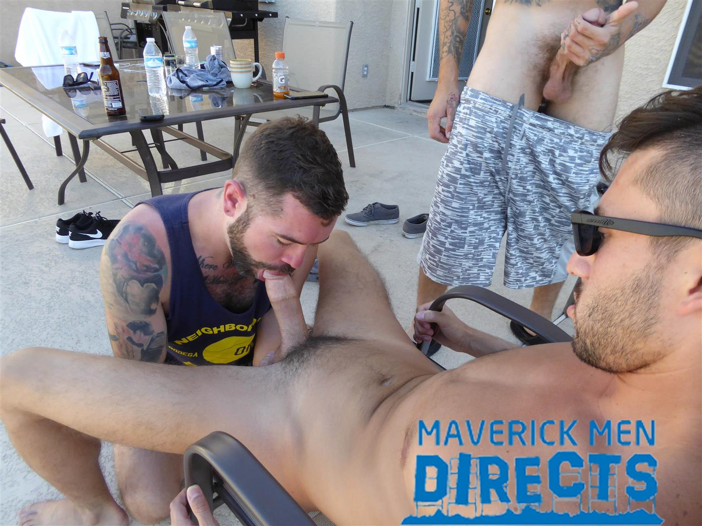Maverick-Men-Directs-Real-Guys-Having-Bareback-Sex-Free-Video-03 Spit On That Hairy Hole And Bareback That Ass