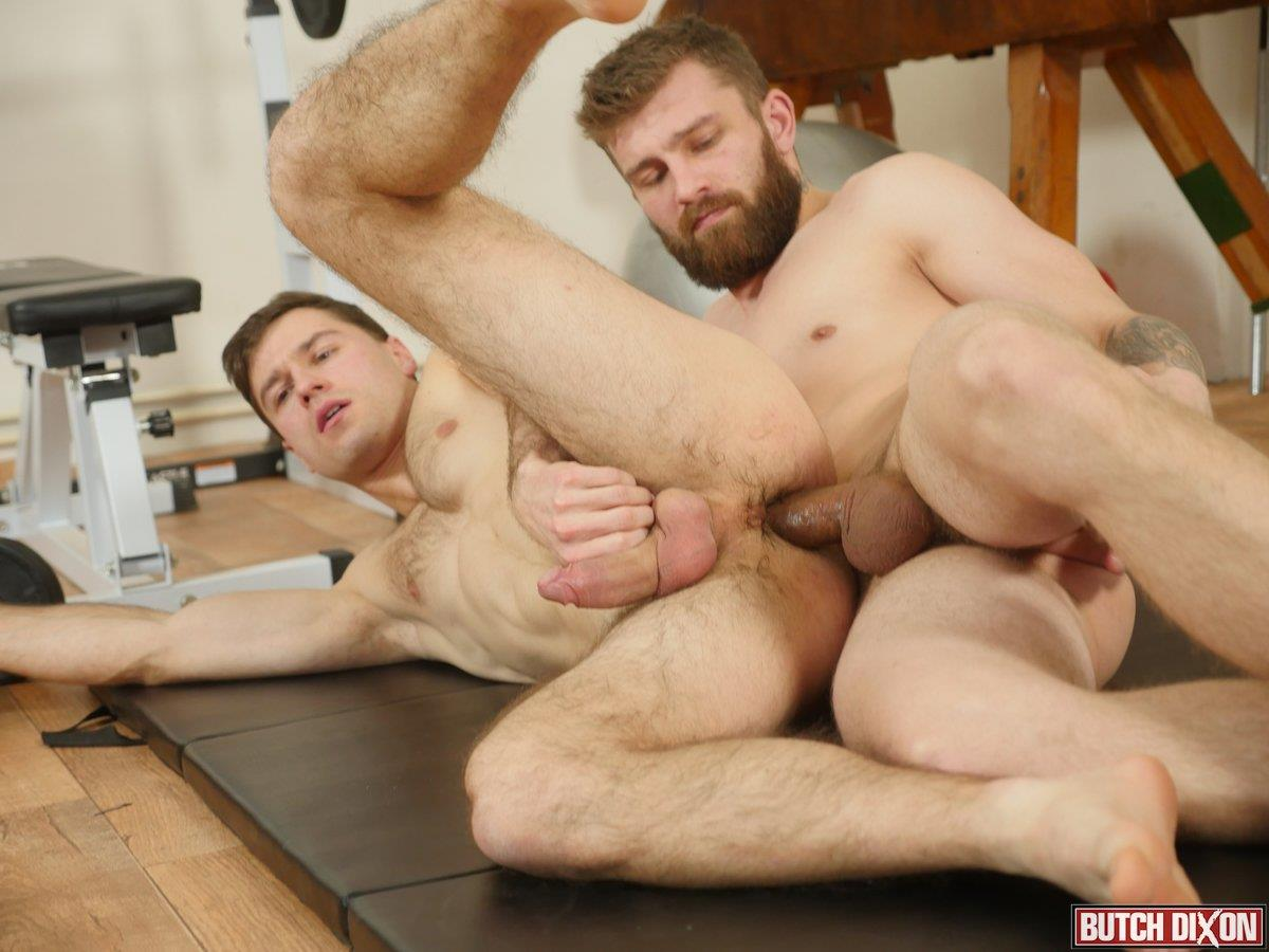 Butch-Dixon-Nikol-Monak-and-Tomas-Salek-Bareback-Jocks-Gay-Sex-16 My Workout Buddy Stuck His Raw Uncut Cock Up My Ass