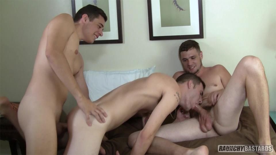 Raunchy-Bastards-Bo-Connor-and-Dominic-Phelps-and-James-Andrews-Bareback-07 I'm Not Gay, But You Can Bareback My Ass