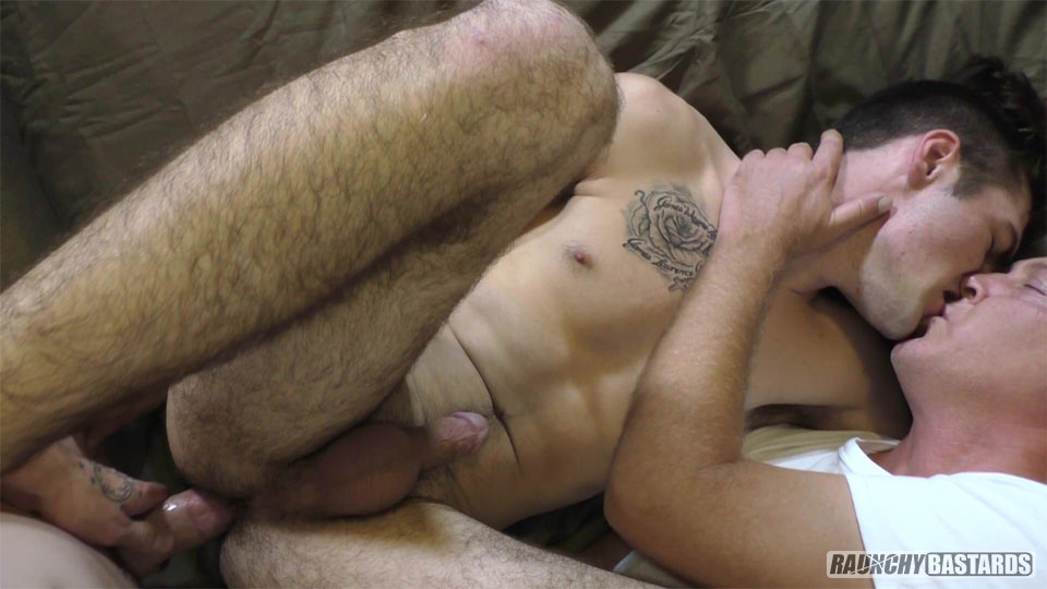Raunchy-Bastards-Jack-Lowe-and-Mason-Ridge-18-year-Olds-getting-barebacked-by-daddy-13 Thick Dick Older Guy Perving And Barebacking Two Straight 18-Year Old Boys