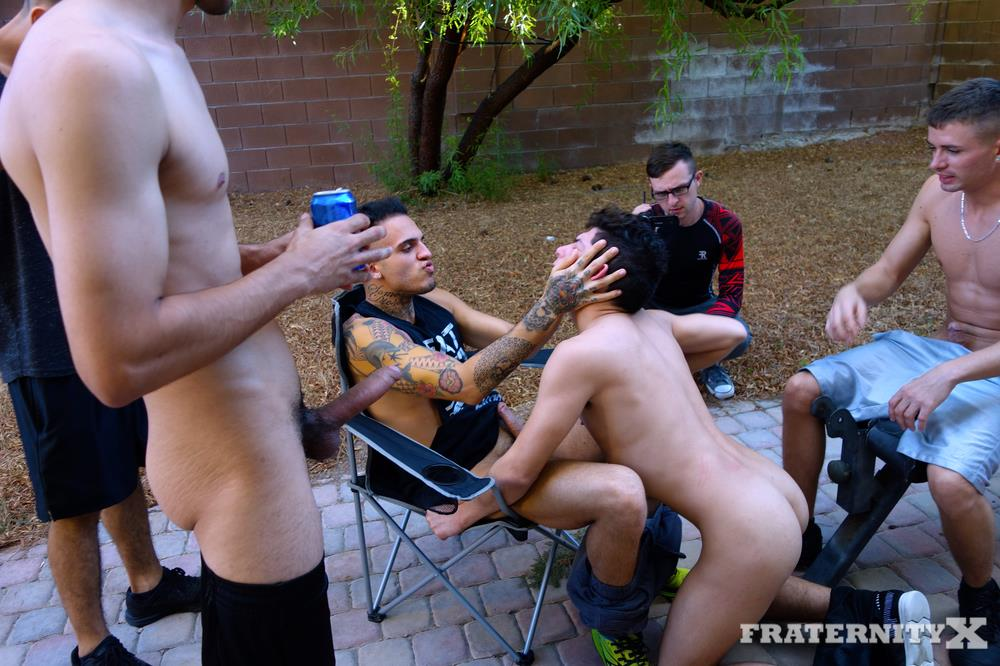 Fraternity-X-Naked-Frat-Boys-Fucking-Bareback-College-Cocks-19 Fraternity Boy Gets Bareback Fucked In The Ass By His Frat Brothers At New Years Eve Party