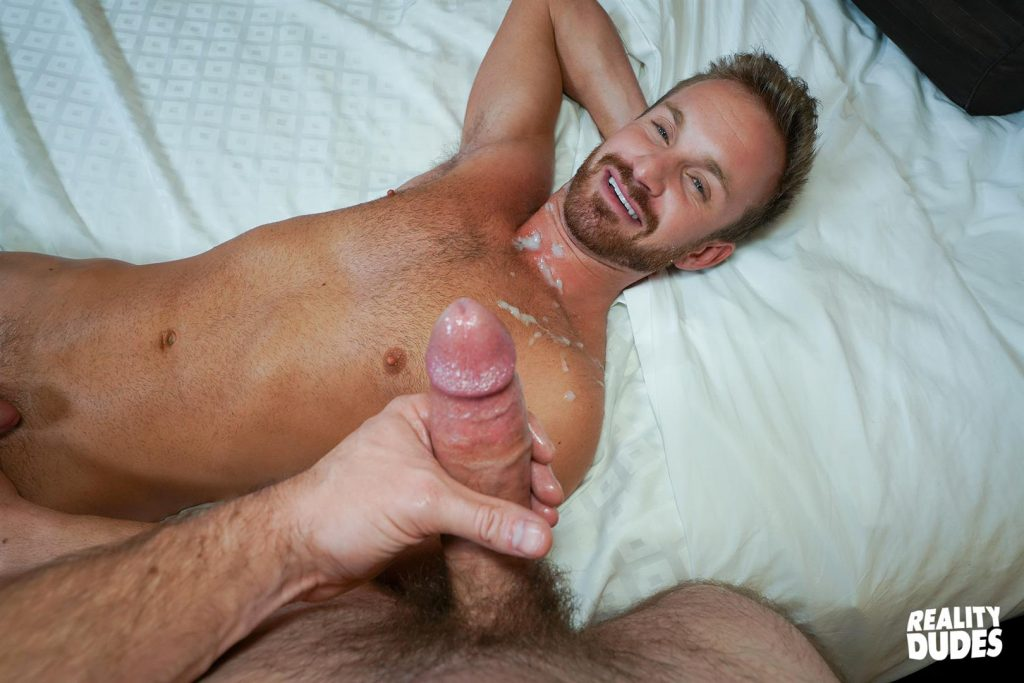 Newbie grayson fucks sean bareback breeds his hole