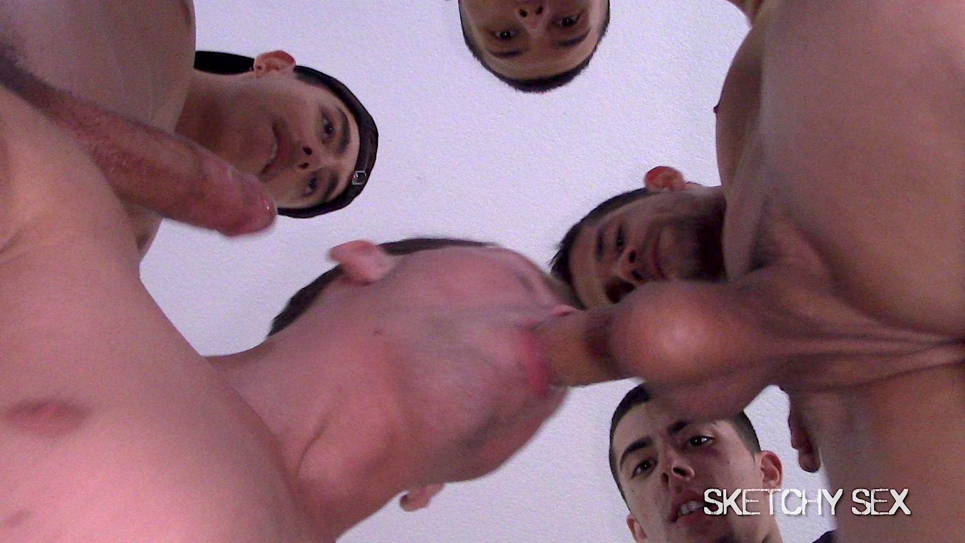 Sketchy-Sex-Slutty-White-Boy-Takes-Raw-Cock-Up-The-Ass-Video-Free-Download-06 White Boy Gets Bred By Every Cock In The Neighborhood At The Sketchy Sex Condo