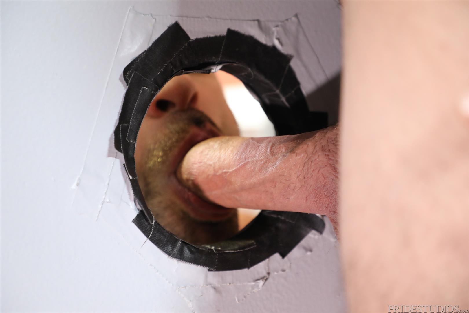 Men-Over-30-Ricky-Larkin-and-Jaxx-Thanatos-Sucking-and-Fucking-At-A-Glory-Hole-08 Hairy Muscle Hunk Jaxx Thanatos Sucks Cock And Gets His Ass Fucked Through A Glory Hole