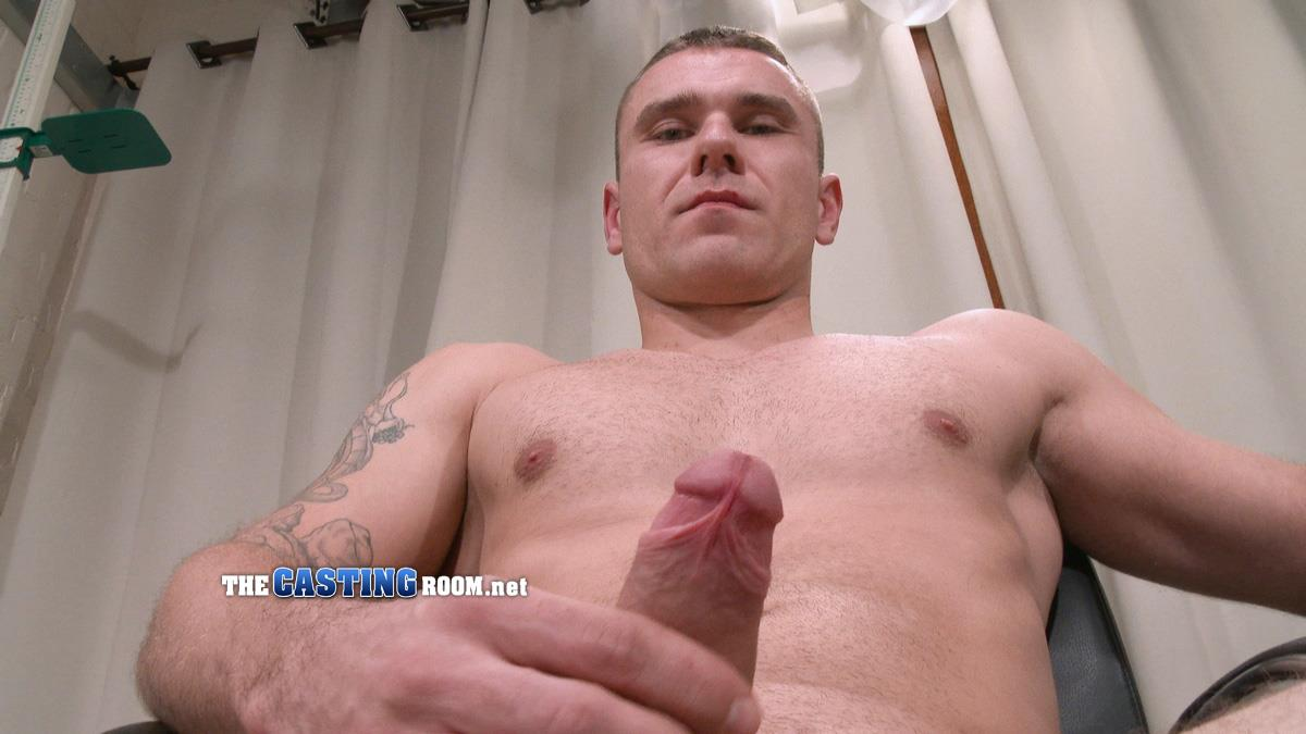 First-Auditions-Konrad-Straight-British-Hunk-Jerking-Off-On-Camera-11 Straight British Muscle Hunk Auditions For Gay Porn And Jerks Off